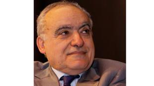 Ghassan Salamé, en conférence au salon du livre de Paris 2012.