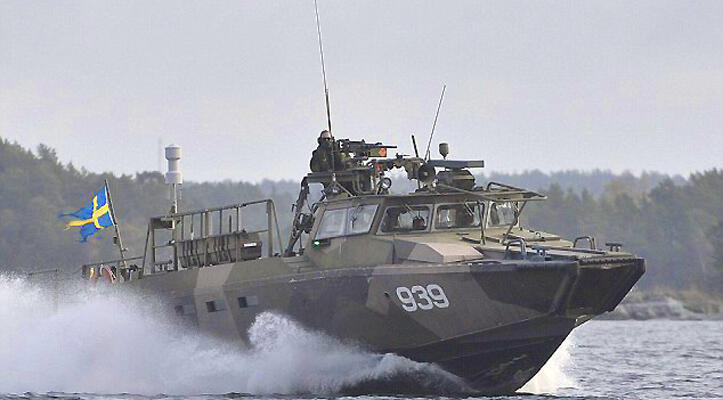 Quân đội Thụy Điển thận trọng về thông tin phát hiện tàu ngầm của Nga - DR