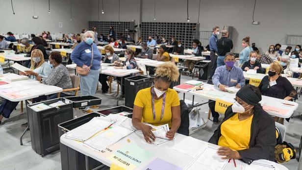 بازشماری آرای انتخاباتی در ایالت جورجیا