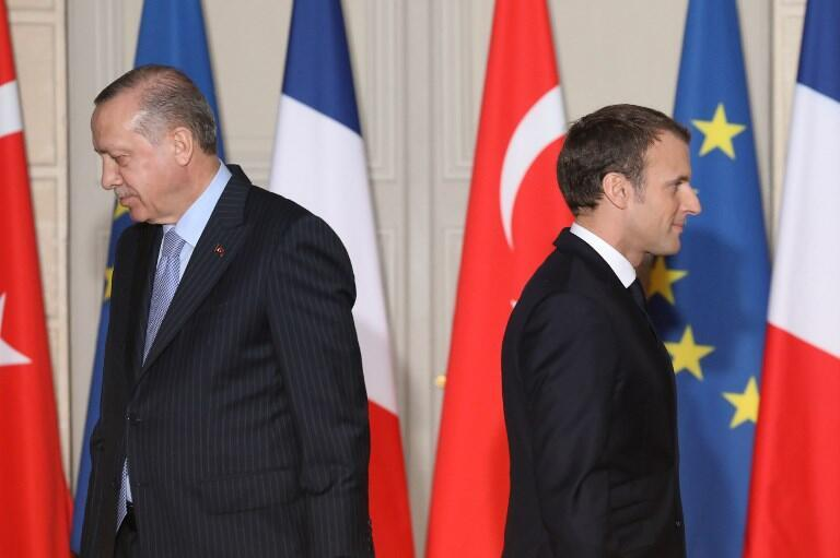 Face-to-face? French President Emmanuel Macron and his Turkish counterpart Recep Tayyip Erdogan may well be on the verge of closer cooperation.