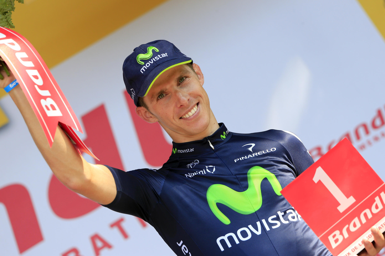 Rui Costa, vencedor da 16a etapa da Volta a França