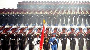 中國準備擴大紀念二戰暨抗日戰爭勝利70周年邀請外國政要來北京觀看閱兵陣容