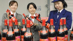日本人熱衷品嘗新上市法國薄酒萊   2007年11月9日東京