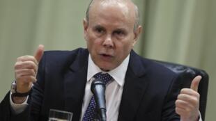 O ministro da Fazenda, Guido Mantega, em foto de 13 de setembro.