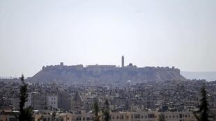 The Citadel of Aleppo which is controlled by the forces loyal to Bashar al-Assad, 26 September, 2013