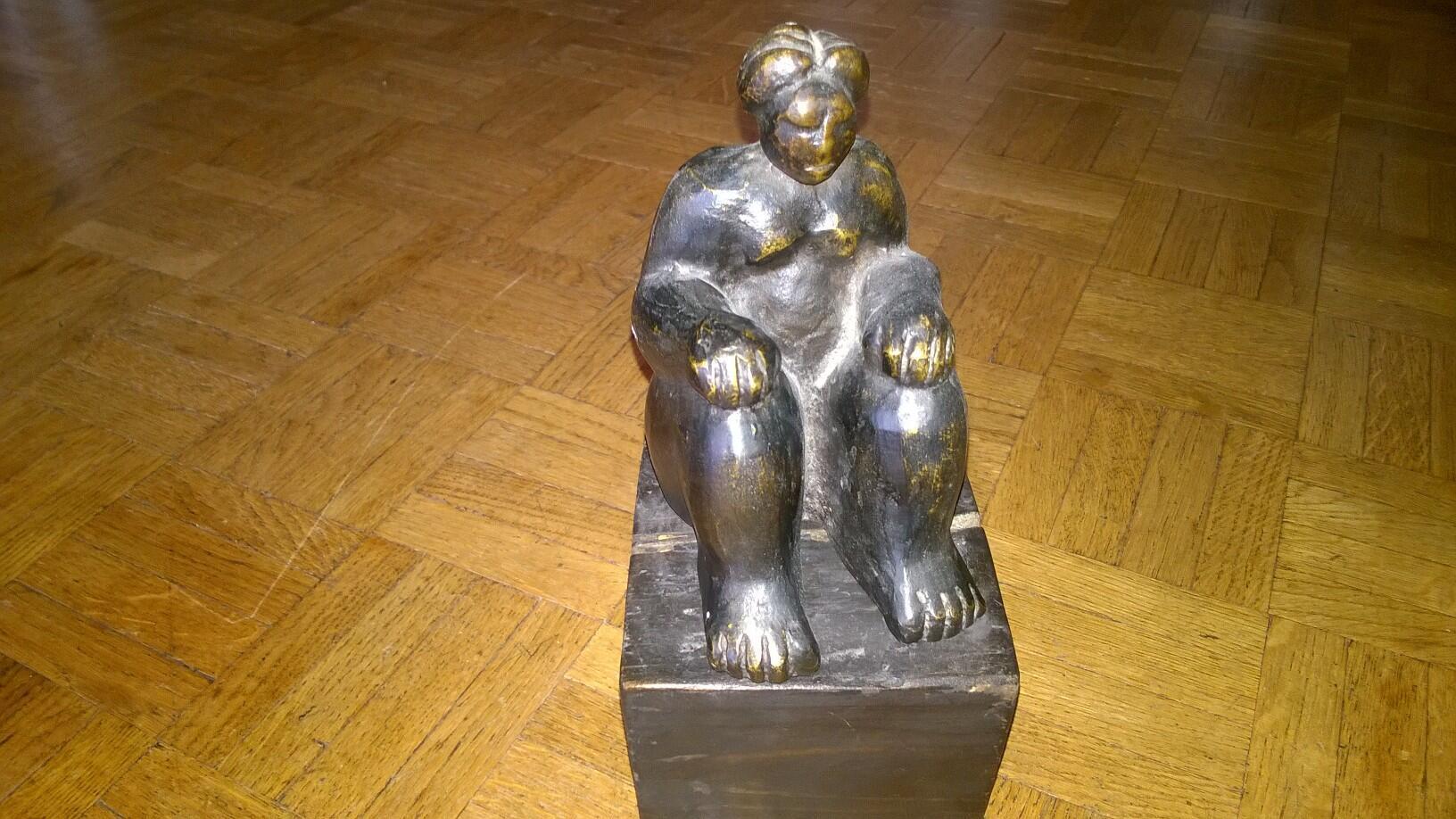 Escultura del artista colombiano, John Giraldo. Colección particular.