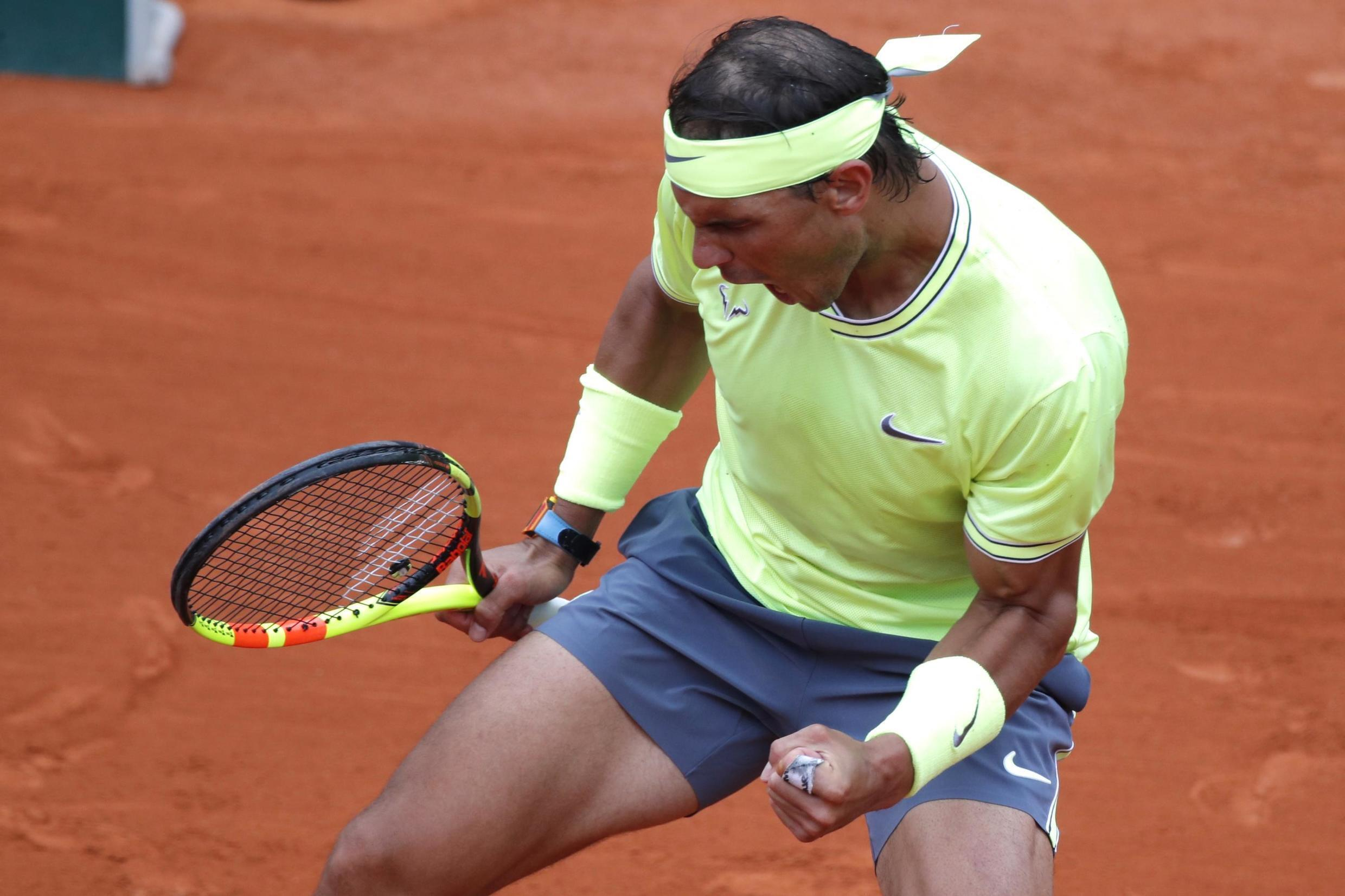 Rafael Nadal needed four sets to beat Dominic Thiem.