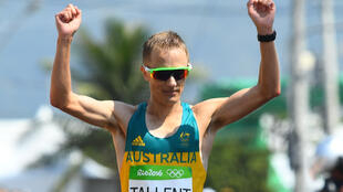 Australia's Jared Tallent won silver in the 50km race walk at the 2016 Olympics