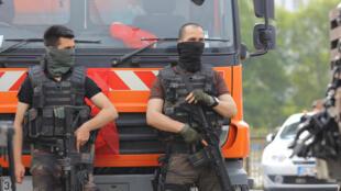 Les forces spéciales de police à Istanbul, le 18 juillet 2016 (photo d'illustration).