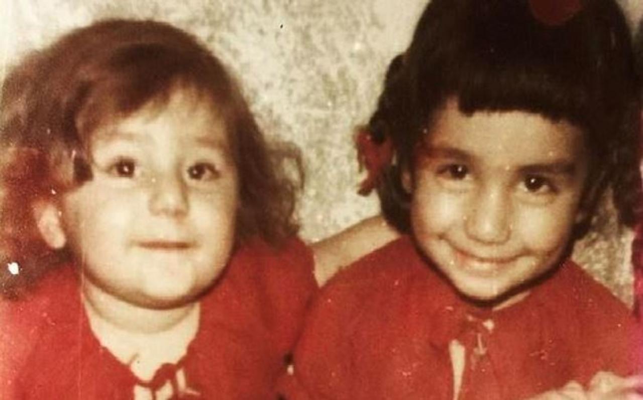 Nadia (L.) growing up in Afghanistan
