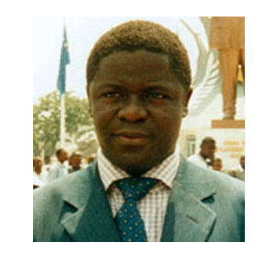 Le secrétaire général du M17, Augustin Kikukama (RDC).