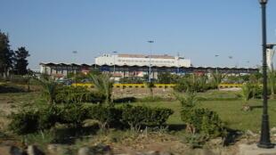 Vista del aeropuerto de Damasco