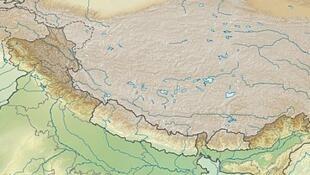 中印边境实际控制地图