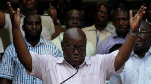 Nana Akufo-Addo ameshinda kiti cha uraisi nchini Ghana