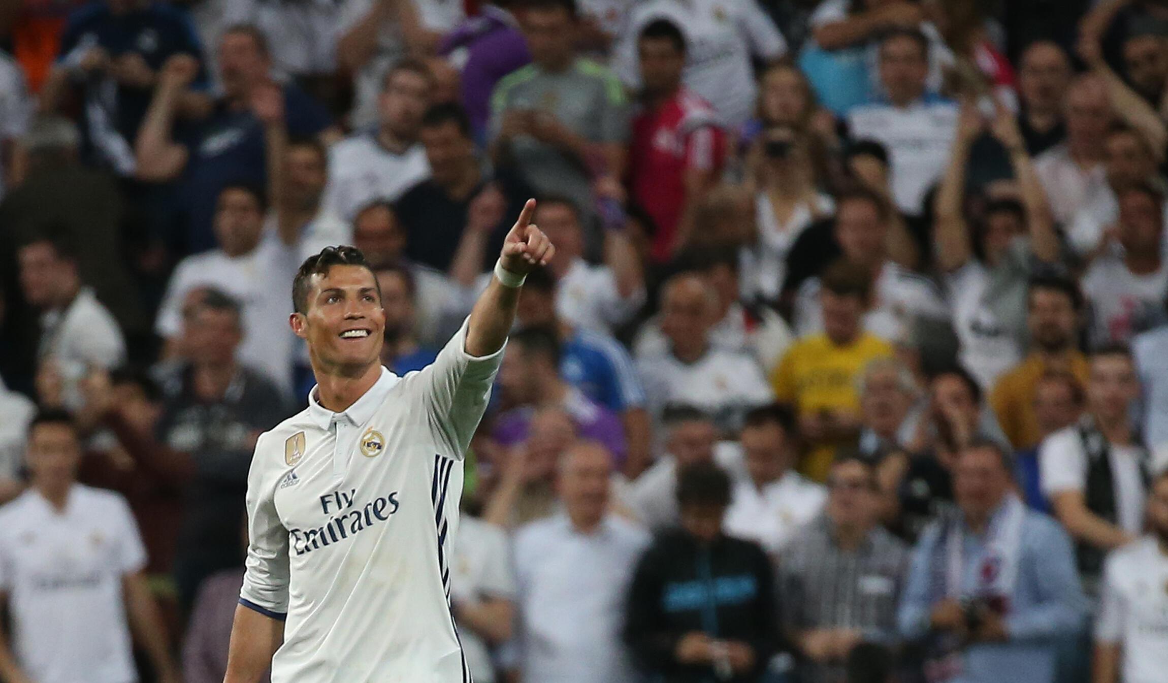 Cristiano Ronaldo, avançado português do Real Madrid.