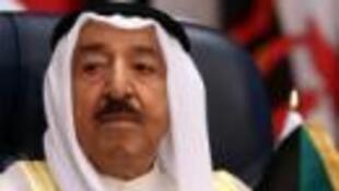 Kiongozi wa nchi ya Kuwait, Sheikh Sabah al-Ahmad al-Jaber al-Sabah, Mei 27, 2015.