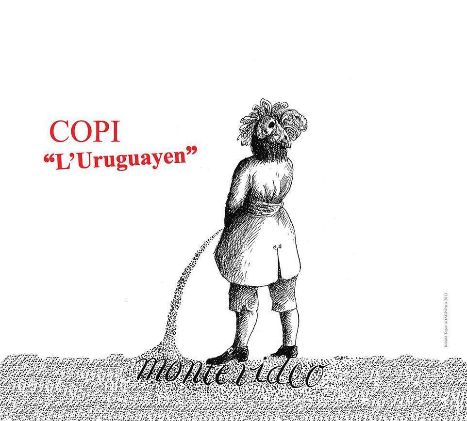 Afiche de la obra 'L'Uruguayen'.
