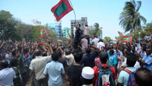 Des heurts se sont produits à Malé, au lendemain de la démission du président des Maldives, Mohamed Nasheed.