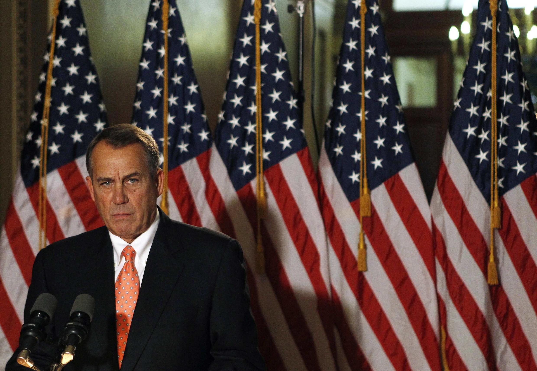 O presidente da Câmara dos Representantes, o republicano John Boehner, disse que nesta quinta-feira seu partido tentará forçar a aprovação de um projeto de lei orçamentária que ignora as negociações com o presidente Barack Obama.