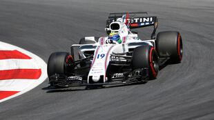Carro de Felipe Massa durante GP da Áustria (7/7/17).