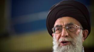 Giáo chủ Ali Khamenei, lãnh đạo tối của của Iran.