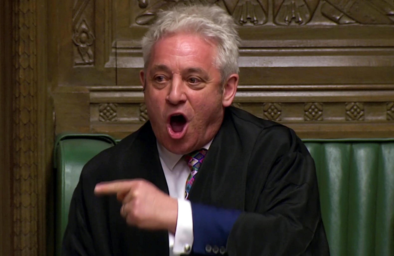جان برکوو، سخنگوی پارلمان بریتانیا