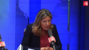 Yaël Braun-Pivet sur RFI le 4 juin 2018.