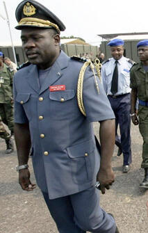 John Numbi, à Kinshasa, le 14 juillet 2006