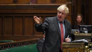 Boris Johnson, por el camino del 'no deal '22/09/2020.