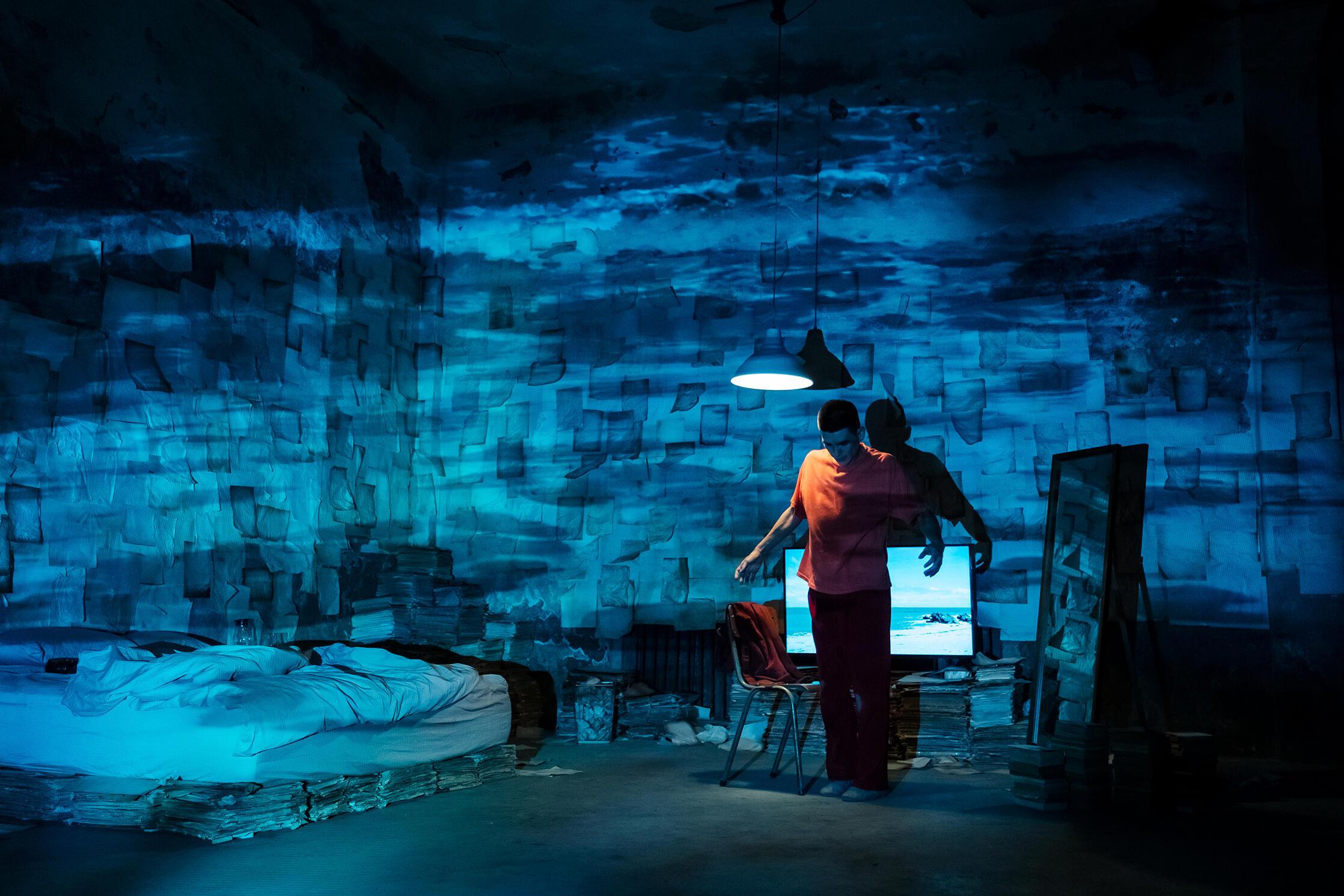 Dans « Afterimage for Tomorrow » (Taïwan), Singing Chen raconte l'histoire d'un homme qui se réveille dans une dimension inconnue de la conscience.