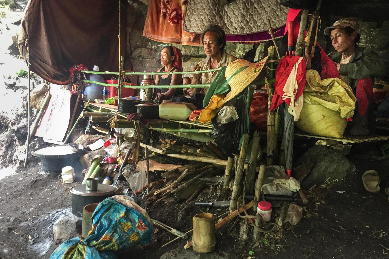 Birmanie - Demoso - Etat de Kayah - Réfugiés 000_9B86ND