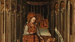 Le saccerdoce de la Vierge, 1438, Musée du Louvre.