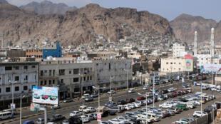 La ciudad de Adén en Yemen, el 22 de enero 2018.