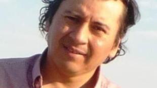 El escritor peruano Ivan Blas Hervias