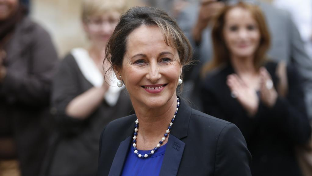 Ségolène Royal, French Environment minister at her inauguration, April 2.