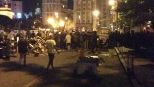 В ночь с воскресенья на понедельник на Майдане Незалежности произошел конфликт с примененим огнестрельного оружия.