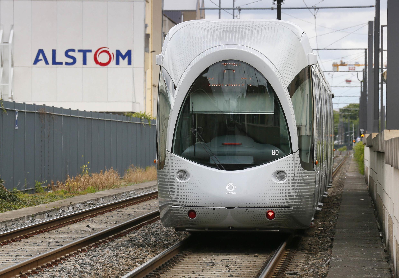 Поезд французской компании Alstom