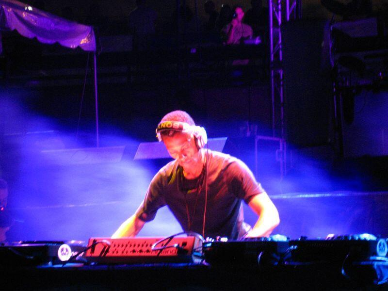 Jeff Mills à Détroit, en 2007.