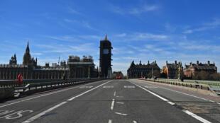Улицы Лондона после введения карантинных мер
