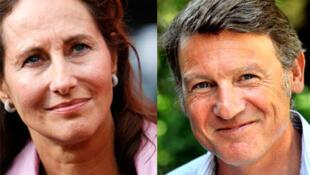 Ségolène Royal et Vincent Peillon.