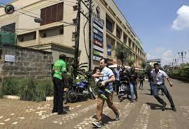 Eneo la Westgate ambalo kundi la watu wenye silaha walivamia na kufanya mauaji na utekaji nyara
