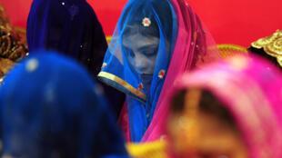 Cérémonie de mariage à Karachi, Pakistan.