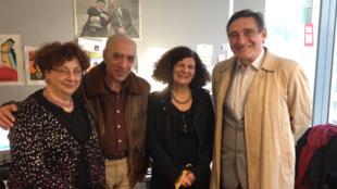 Claire Mouradian, Raymond Kévorkian, Annette Becker et Ahmet Insel.