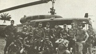 Soldados brasileños llegados a Araguaia (1972), durante la represión a la guerrilla en la década de los 70.