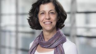 A cientista brasileira Vânia Braga.