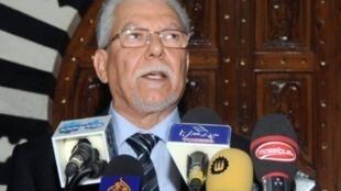 Taieb Baccouche, ministre tunisien des Affaires étrangères.