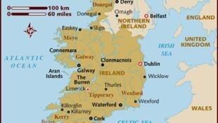 Taswirar kasar Ireland