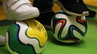 香港商場的世界盃足球賽宣傳活動,20140608。
