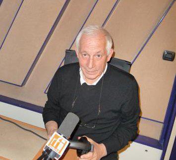 Никита Сарников в студии RFI