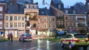 В жилом доме в бельгийском городе Вервье прогремел взрыв